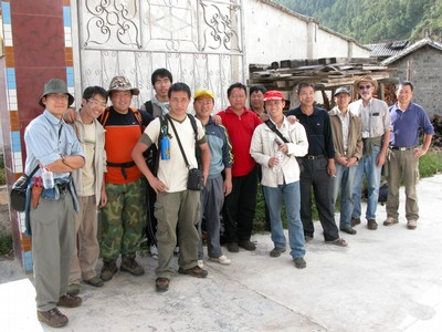 2006 Expedition team: Yunnan, Zhongdian Xian, Haba Cun